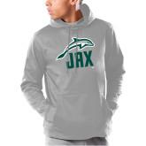 Under Armour Grey Armour Fleece Hoodie-Dolphin JAX