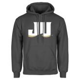 Charcoal Fleece Hoodie-JU