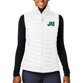 Columbia Lake 22 Ladies White Vest-JU