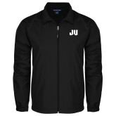 Full Zip Black Wind Jacket-JU