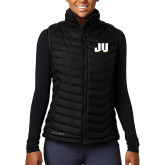 Columbia Lake 22 Ladies Black Vest-JU