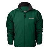 Dark Green Survivor Jacket-Jacksonville Word Mark
