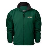 Dark Green Survivor Jacket-Dolphins Word Mark