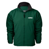 Dark Green Survivor Jacket-Jacksonville Dolphins Arched