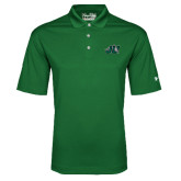 Under Armour Dark Green Performance Polo-Official Logo