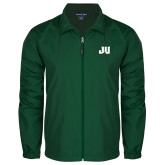 Full Zip Dark Green Wind Jacket-JU
