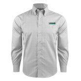 Red House Grey Plaid Long Sleeve Shirt-Jacksonville Dolphins Word Mark