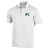 Under Armour White Performance Polo-JU
