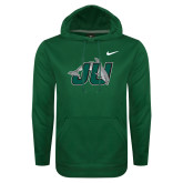NIKE Stadium Green Club Fleece Hood-