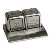 Icon Action Dice-Jacksonville Word Mark Engraved