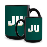 Full Color Black Mug 15oz-JU