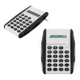 White Flip Cover Calculator-Jacksonville Wordmark