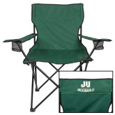 Deluxe Green Captains Chair-Primary Logo