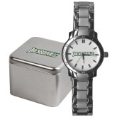 Mens Stainless Steel Fashion Watch-Jacksonville Word Mark