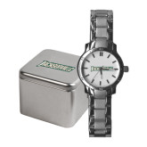 Ladies Stainless Steel Fashion Watch-Jacksonville Word Mark