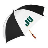 62 Inch Black/White Vented Umbrella-JU