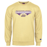 Champion Vegas Gold Fleece Crew-NCAA Division I Football Champions 2016