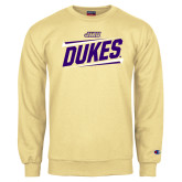 Champion Vegas Gold Fleece Crew-Dukes Slanted