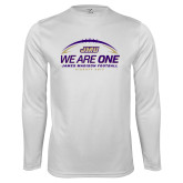 Performance White Longsleeve Shirt-We Are One - Kickoff 2017