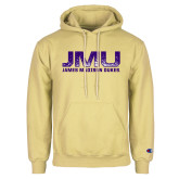 Champion Vegas Gold Fleece Hoodie-JMU James Madison Dukes Textured