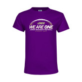 Youth Purple T Shirt-We Are One - Kickoff 2017