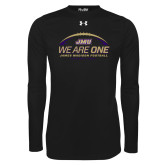 Under Armour Black Long Sleeve Tech Tee-We Are One - Kickoff 2017
