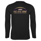 Performance Black Longsleeve Shirt-We Are One - Kickoff 2017
