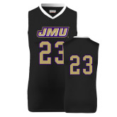 Replica Black Adult Basketball Jersey-#23