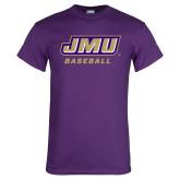Purple T Shirt-Baseball