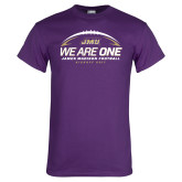 Purple T Shirt-We Are One - Kickoff 2017