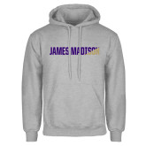 Grey Fleece Hoodie-James Madison Two Tone