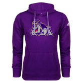 Adidas Climawarm Purple Team Issue Hoodie-Duke Dog