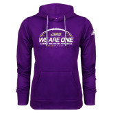Adidas Climawarm Purple Team Issue Hoodie-We Are One - Kickoff 2017