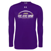 Under Armour Purple Long Sleeve Tech Tee-We Are One - Kickoff 2017