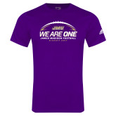 Adidas Purple Logo T Shirt-We Are One - Kickoff 2017