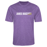 Performance Purple Heather Contender Tee-James Madison Two Tone