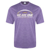 Performance Purple Heather Contender Tee-We Are One - Kickoff 2017