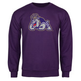 Purple Fleece Crew-Duke Dog