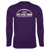 Performance Purple Longsleeve Shirt-We Are One - Kickoff 2017
