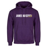 Purple Fleece Hoodie-James Madison Two Tone