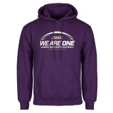 Purple Fleece Hoodie-We Are One - Kickoff 2017