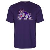 Performance Purple Tee-Duke Dog