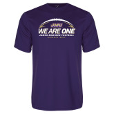 Performance Purple Tee-We Are One - Kickoff 2017
