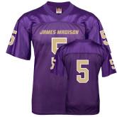 Replica Purple Adult Football Jersey-#5