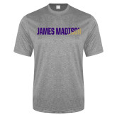 Performance Grey Heather Contender Tee-James Madison Two Tone