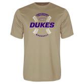 Performance Vegas Gold Tee-Dukes Baseball w/ Seams