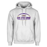 White Fleece Hoodie-We Are One - Kickoff 2017