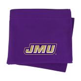 Purple Sweatshirt Blanket-Primary Logo