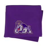 Purple Sweatshirt Blanket-Duke Dog