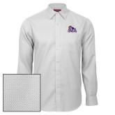 Red House White Diamond Dobby Long Sleeve Shirt-Duke Dog